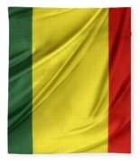 Mali Flag Fleece Blanket