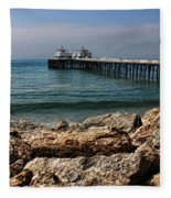 Malibu Pier Fleece Blanket