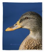 Mallard Queen Fleece Blanket