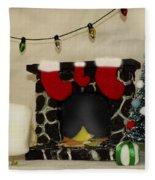 Mallow Christmas Fleece Blanket