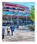 Malmo Arena 05 Fleece Blanket