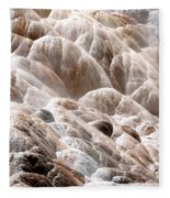 Mammoth Hot Springs Closeup Fleece Blanket