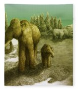 Mammoths Fleece Blanket