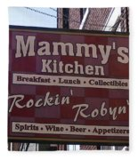 Mammy's Kitchen In Bardstown Kentucky Fleece Blanket