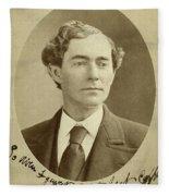 Man, 1874 Fleece Blanket