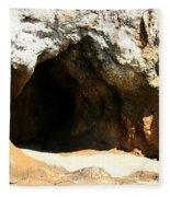Shell Beach Man Cave Fleece Blanket
