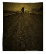 Man On A Mission Fleece Blanket