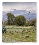 Mancos Colorado Landscape Fleece Blanket