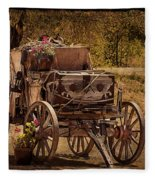 Mancos Flower Wagon Fleece Blanket