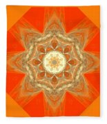 Mandala 014-2 Fleece Blanket