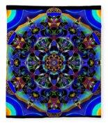 Mandala 2 Fleece Blanket