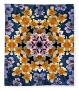 Mandala Alstro Fleece Blanket