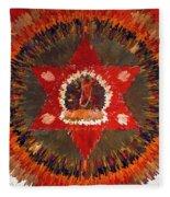Mandala Naro Khechari Fleece Blanket