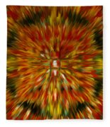 Mandala Vairocana Fleece Blanket