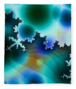 Mandelbrot Fleece Blanket
