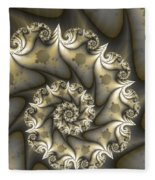 Mandelbrot Set Fleece Blanket
