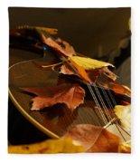Mandolin Autumn 3 Fleece Blanket