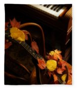 Mandolin Autumn 5 Fleece Blanket