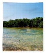 Mangrove @ Safehaven Sound Fleece Blanket
