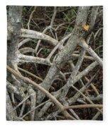 Mangrove Roots 1 Fleece Blanket