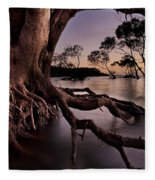 Mangrove Roots Fleece Blanket