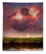 Mangrove Storm Fleece Blanket
