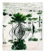 Mangroves Fleece Blanket