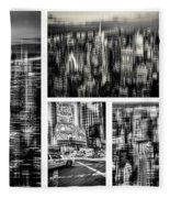 Manhattan Collection II Fleece Blanket
