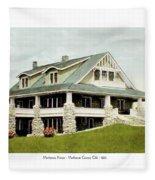 Manhattan Kansas - Manhattan Country Club - 1920 Fleece Blanket