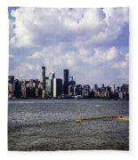 Manhattan On My Mind Fleece Blanket
