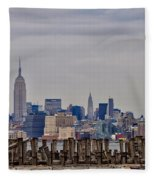Manhattan View Fleece Blanket