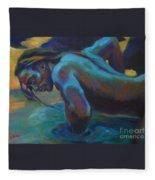 Manly Merman Fleece Blanket