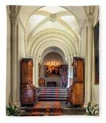 Mansion Hallway IIi Fleece Blanket