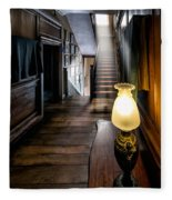 Mansion Lamp Fleece Blanket