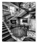 Mansion Stairway V2 Fleece Blanket