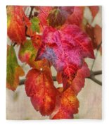 Maple Colors Fleece Blanket