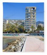 Marbella Resort In Spain Fleece Blanket