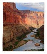 Marble Canyon - April Fleece Blanket