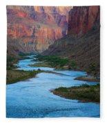 Marble Canyon Rafters Fleece Blanket