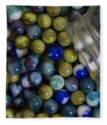 Marble Collection Jar 1 A Fleece Blanket