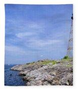 Marblehead Light Fleece Blanket