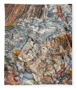 Marbleized Wood Fleece Blanket