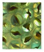 Marbles Cat Eyes Soda 1 B Fleece Blanket