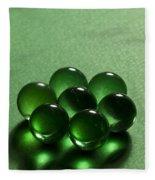 Marbles Green 1 C Fleece Blanket