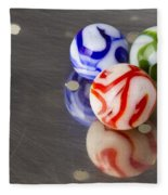 Marbles Strainer 2 Fleece Blanket