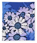 March Of The Daisies Fleece Blanket