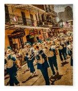 Marching Band Fleece Blanket