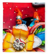 Mardi Gras Float Fleece Blanket