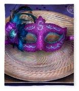 Mardi Gras Theme - Surprise Guest Fleece Blanket