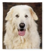 Maremma Sheepdog Fleece Blanket